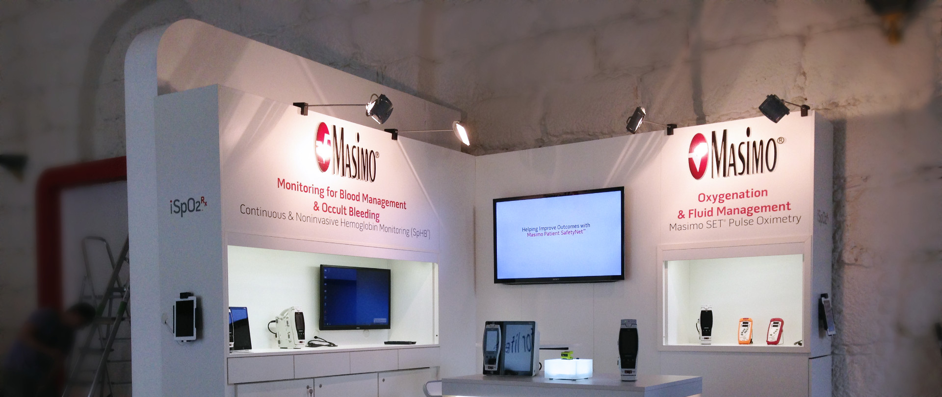 MC-Design - Referenzbild 2 - Arab Health / NATA / ESICM